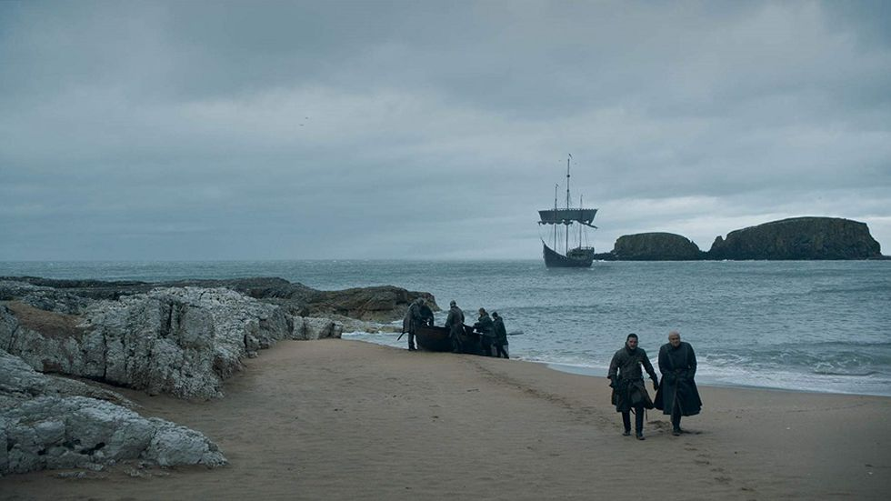 Jon llegó a Dragonpoint y está listo para luchar contra Cersei (Foto: HBO)