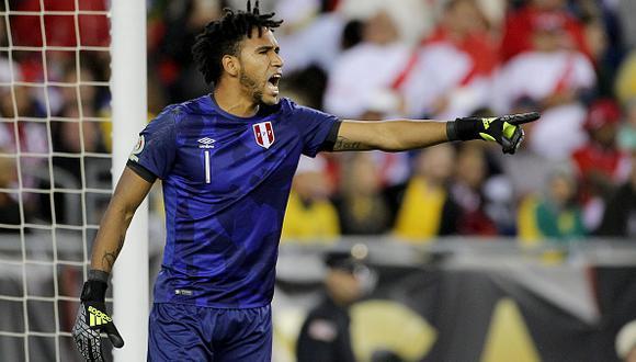 Pedro Gallese es el portero titular indiscutible en la selección peruana. (Foto: Getty)