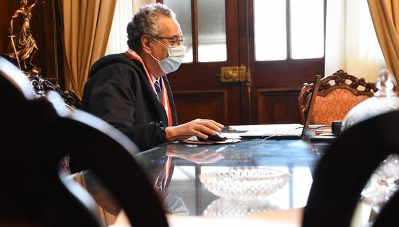 José Luis Lecaros reconoció su voz en audio grabado por Perú21. (Poder Judicial)