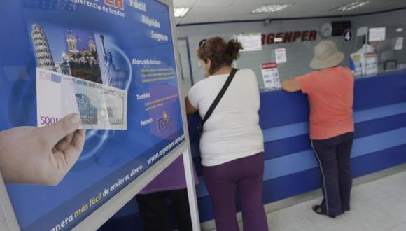 Perú recibió el año pasado US$2,697 millones en remesas. (USI)