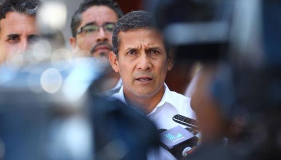"""""""Está probado el acto de espionaje. Tenemos una confesión de parte"""", dijo Humala. (Andina)"""