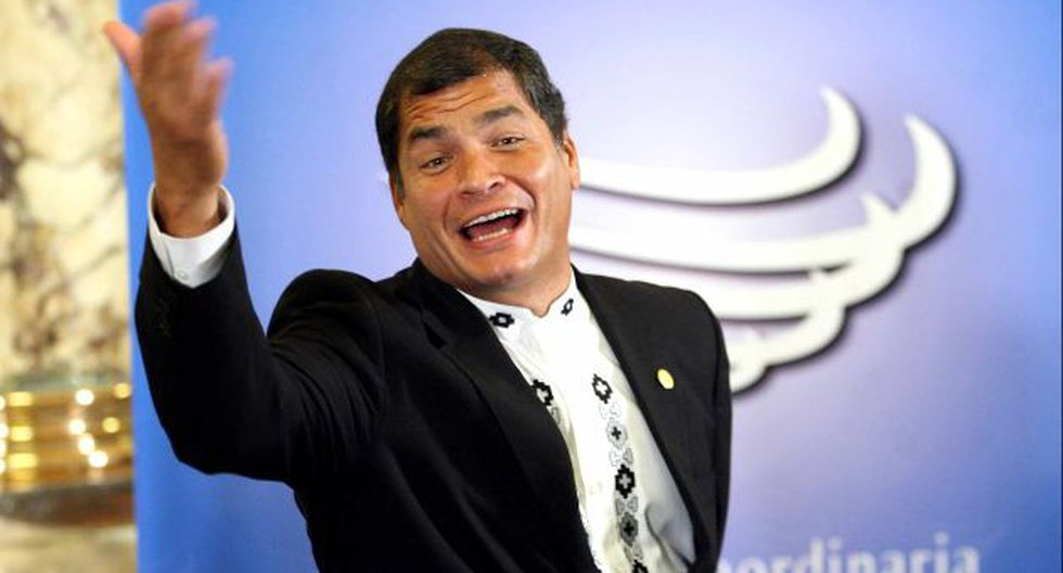 ESTABA CANTADO. Rafael Correa lleva casi 6 años en el poder y quiere quedarse cuatro años más. (Luis Gonzáles)