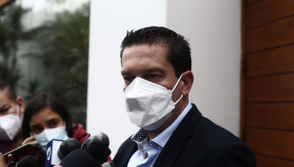 Miguel Torres cuestionó a quienes han saludado a Pedro Castillo antes que el JNE proclame al ganado de las Elecciones Generales 2021.  (Foto: Jesús Saucedo/@photo.gec)