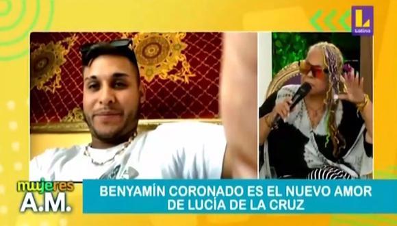Lucía de la Cruz revela que tiene una relación a distancia con joven 43 años menor que ella. (Foto: Captura de  video)