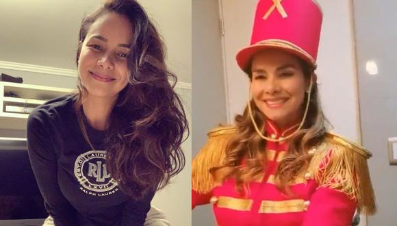Maricielo Effio volvió a ponerse el uniforme de paquita del Show de Xuxa: (Instagram Maricielo Effio)