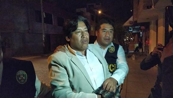 Alcalde del distrito de Huáchac, Nilo Inga Huamán. (Junior Mesa)