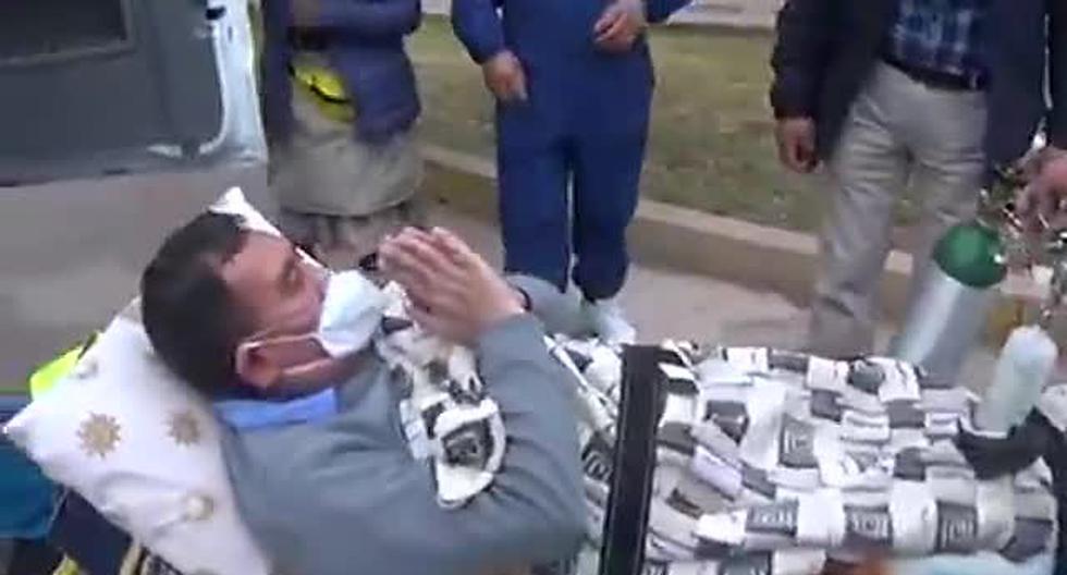 Cusco: médico cirujano sale de UCI y derrota al COVID-19 en el nosocomio donde trabaja [VIDEO]
