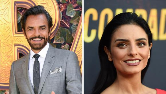 El actor Eugenio Derbez relató que cuando nació Aislinn tuvo un tiempo de negación, pero luego la empezó a querer. (AFP).