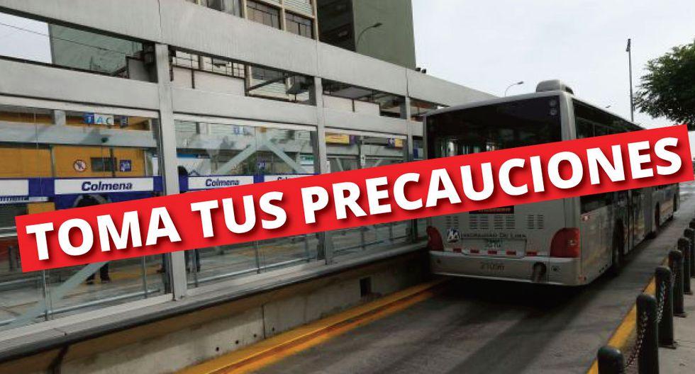 Estaciones del Centro están cerradas. (Perú21)
