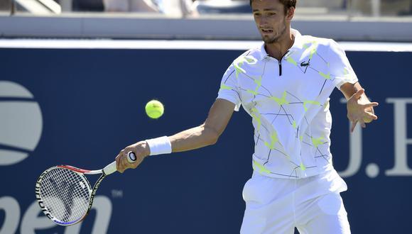 El ruso Daniil Medvedev chocará en la tercera ronda ante el español Feliciano López. Crédito: AP