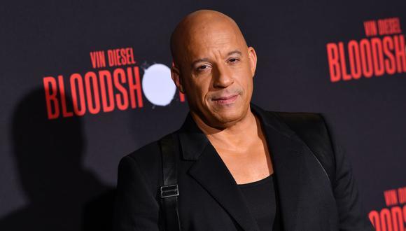"""Vin Diesel incursiona en la música con el tema """"Feel Like I Do"""". (Foto: AFP/Chris Delmas)"""