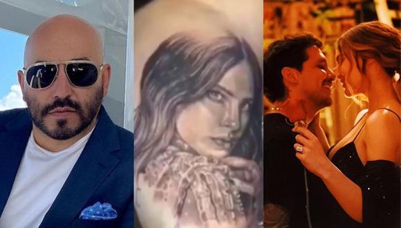 Christian Nodal opina sobre la decisión de Lupillo Rivera de borrarse tatuaje que se hizo del rostro Belinda. (Foto: @lupilloriveraofficial/@belindapop).