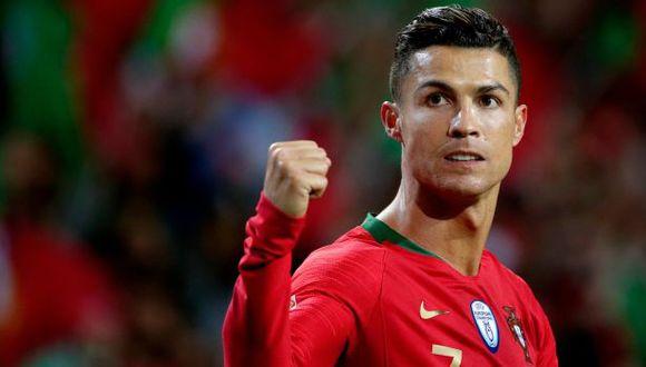 Cristiano Ronaldo firmó un 'hat-trick' a Suiza en la UEFA Nations League. (Foto: AFP)