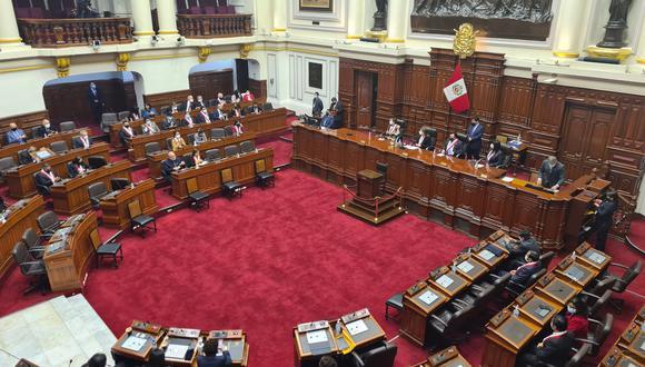 Pleno del Congreso sesionará este 5 de agosto de forma presencial. (Foto: Congreso de la República)