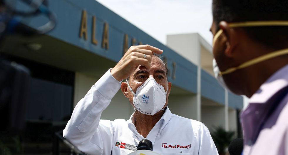 Walter Martos aseguró que hay personal capacitado en uso de armas no letales en las FF.AA. que patrullarán por emergencia ante coronavirus. (Foto: GEC)