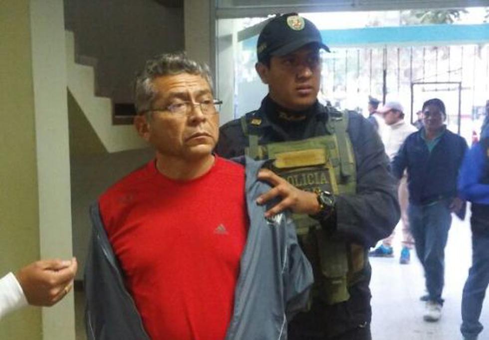El secretario regional de Construcción Civil, Wilmer Zegarra fue detenido.