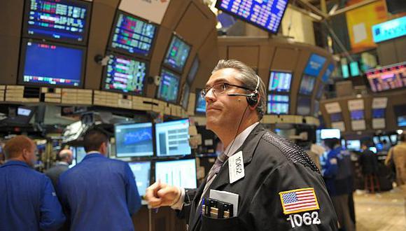 El arranque de la jornada bursátil en Estados Unidos estaba marcado por losbuenos datos económicos. (Foto: AFP)