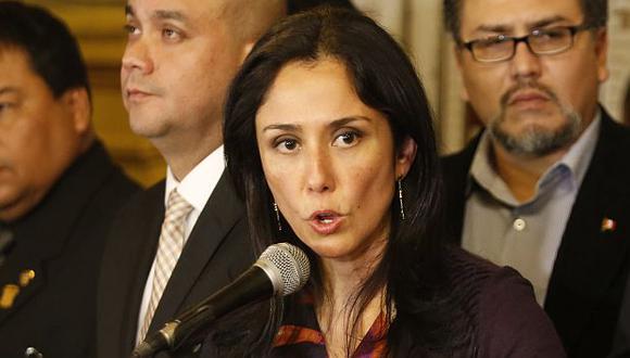 Nadine Heredia: 'Apra sacó tema de las agendas para tapar juicio por narcoindultos'. (César Fajardo/Perú21)