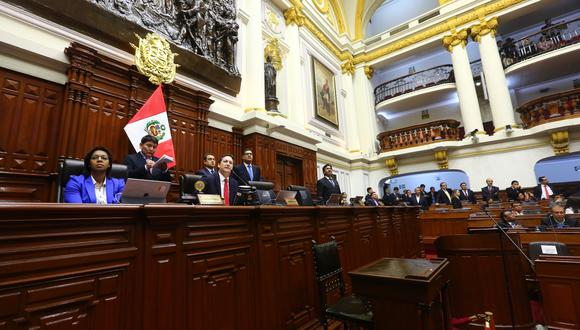 La Junta de Portavoces acordó cambiar, una vez más, la fecha de la elección de la nueva Mesa Directiva. (Foto: Congreso / Video: Congreso TV)