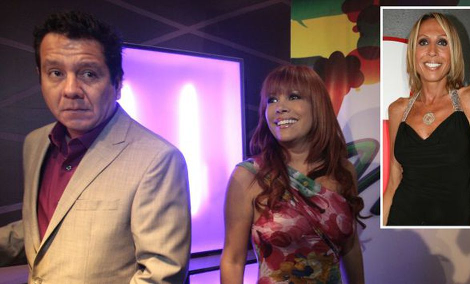Magaly Medina deja ir a Ney Guerrero con Laura Bozzo. (Nancy Dueñas/USI)