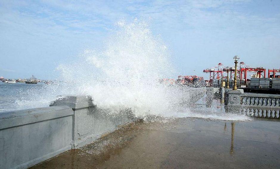Indeci recomendó a las autoridades a tomar medidas de protección y preparación ante el registro de oleajes de ligera intensidad (Foto: Andina)