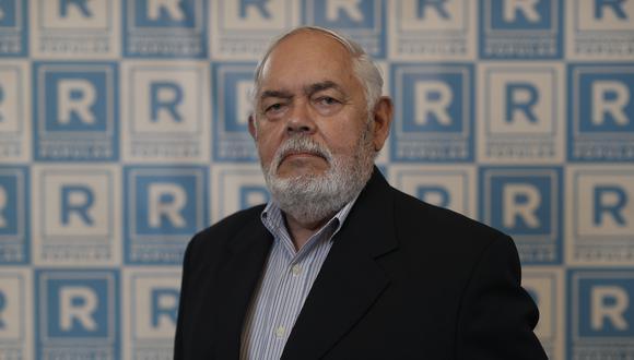 Jorge Montoya postula con Renovación Popular. (Foto: César Campos / GEC)