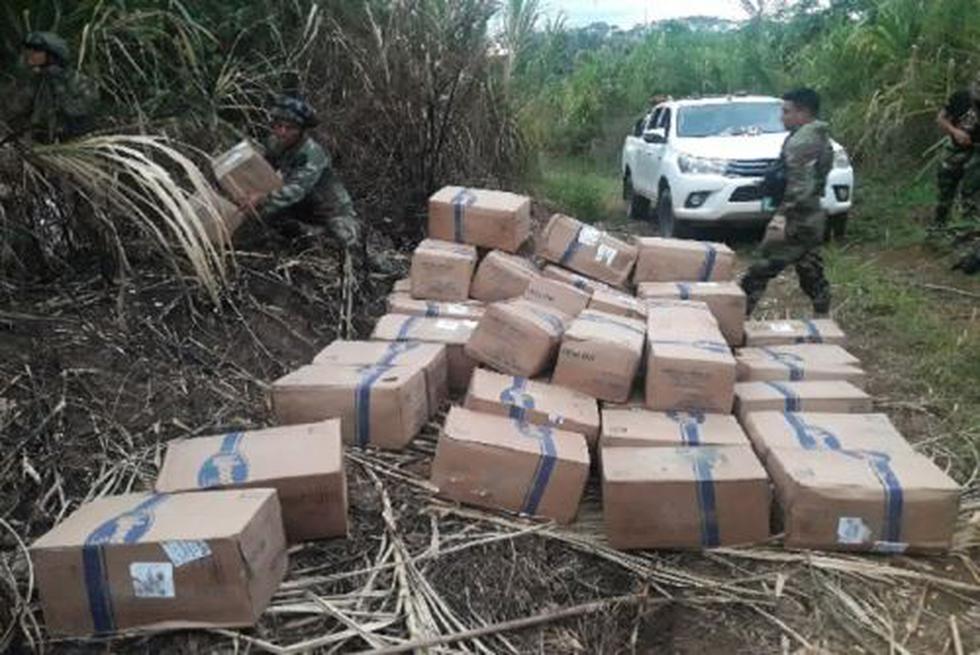 Vraem: Policía decomisó más de tres toneladas de acetona destinada a elaborar cocaína. (Andina)