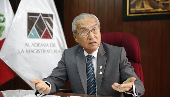 El fiscal supremo Pedro Chávarry afronta proceso por el delito de encubrimiento real. (Foto: Renzo Salazar / GEC)
