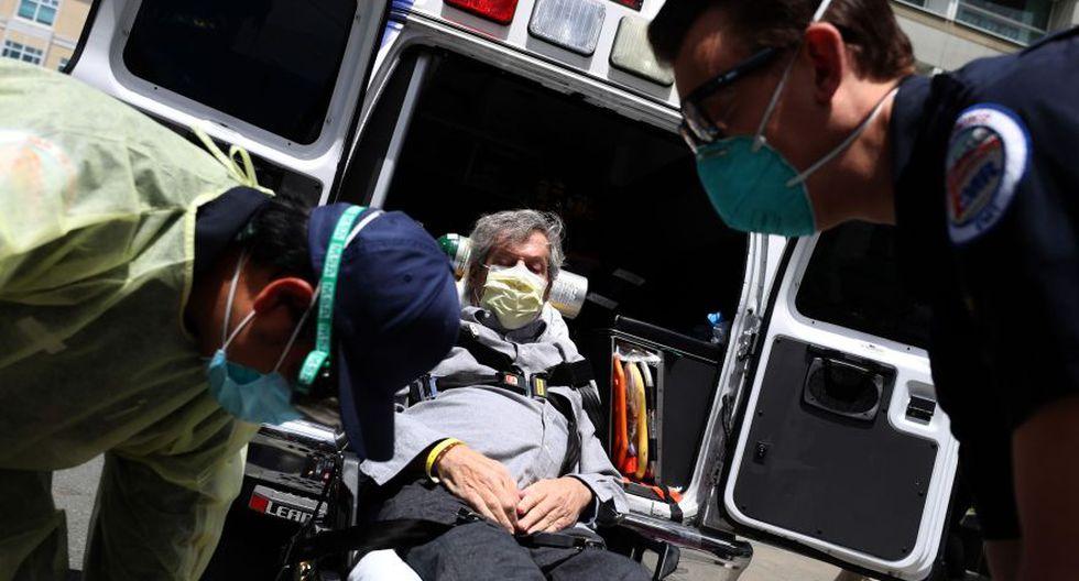 Estados Unidos supera los 2,5 millones de contagios de COVID-19. (Foto: Justin Sullivan/AFP).