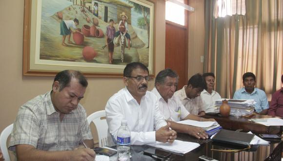 Alcaldes se reunieron y anunciaron las protestas.