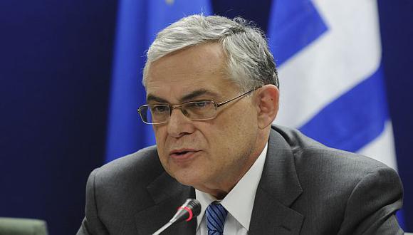 Papademos dijo que es un día histórico para la economía griega. (AP)