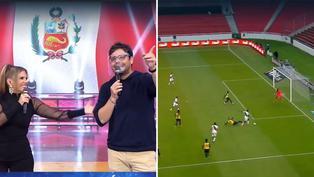 Gian Piero Díaz se emociona por triunfo de Perú y narra gol de Luis Advíncula