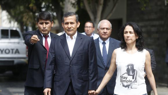 Ollanta Humala y Nadine Heredia viven en la casa de un familiar luego de que el juez ordenara la incautación de su vivienda. (Piko Tamashiro)