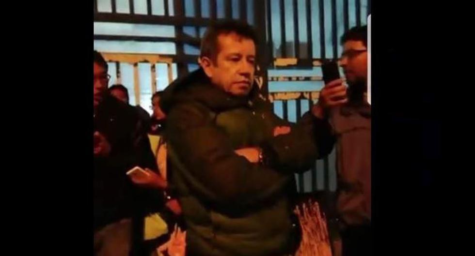 Raúl Dario Valencia Espinoza (57), hermano del actual ministro de Comercio Exterior y Turismo Rogers Martín Valencia Espinoza, y sospechoso del atropello y muerte de universitario. (Foto: Noticias En Cusco)