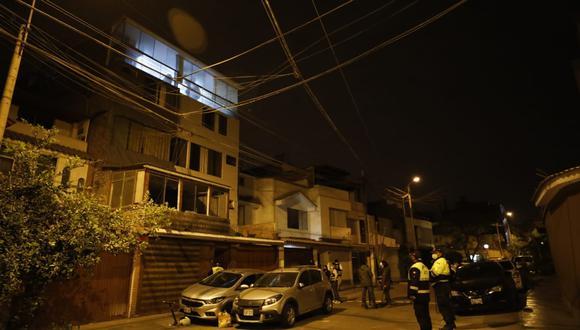 Los detenidos fueron llevados a la sede de la Dirincri de la Av. España para las diligencias del caso. Foto: César Bueno @photo.gec
