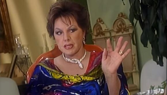 Sonia Infante, actriz y sobrina de Pedro Infante, falleció a los 75 años. (Foto: Captura de video)