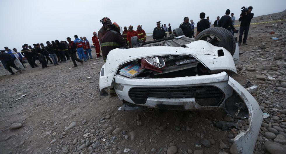 Seis personas resultaron heridas. (Foto: GEC/Referencial)