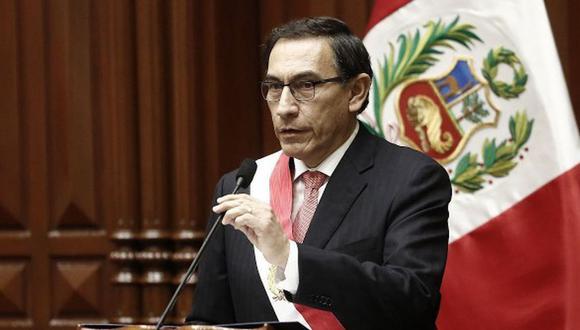 Martín Vizcarra anuncia la presentación de un proyecto de ley para evitar que sentenciados sean candidatos