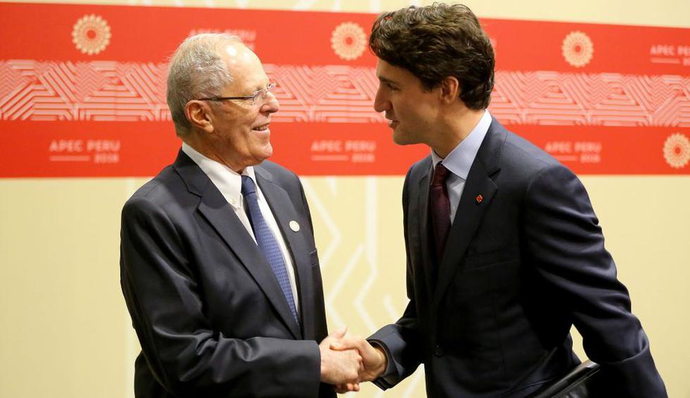 mandatarios profundizaron sobre los proyectos que desarrolla Canadá a favor de la educación. (Andina)