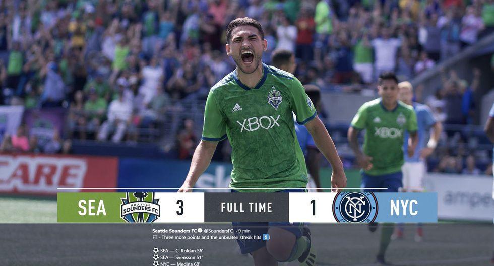 Seattle Sounders vs New York City: Equipo de Raúl Ruidíaz gana 3-1 por la MLS
