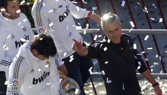 No puede estar más feliz. (Reuters)