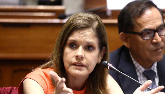 La vicepresidenta y congresista Mercedes Araoz señaló, en una entrevista, la necesidad de tomar con precaución la migración venezolana. (Foto: Difusión)