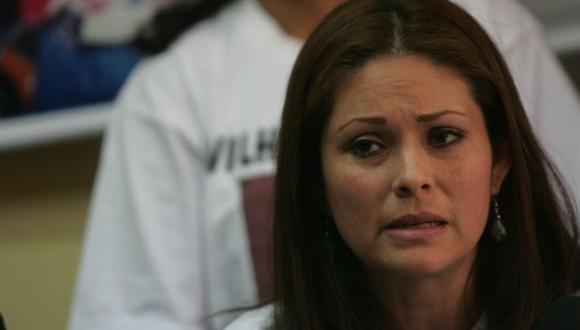 La viuda de Wilhem Calero sigue exigiendo justicia. (USI)