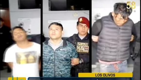 Criminales habían asaltado un negocio en Huandoy.