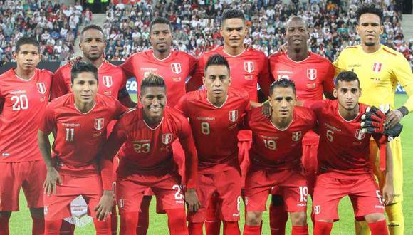 La selección peruana jugará en octubre ante Chile y Estados Unidos (Foto: AFP).