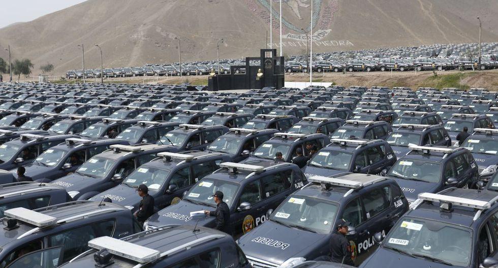 El Ministerio del Interior entregará este lunes 130 patrulleros para reforzar lucha contra la delincuencia en Lima y Callao. (Imagen referencial/Archivo GEC)