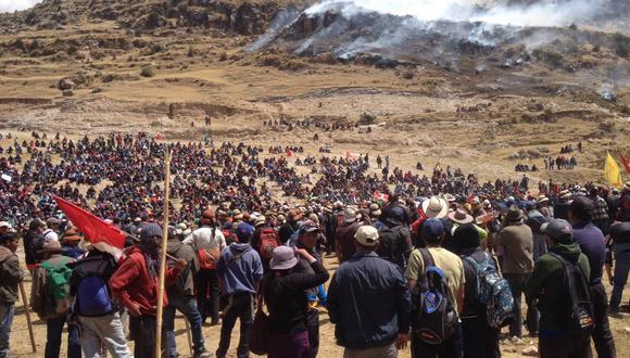 La PCM y el MEM reiteraron la predisposición del Gobierno de retomar un diálogo directo entre las comunidades y la empresa minera. (Foto: GEC)