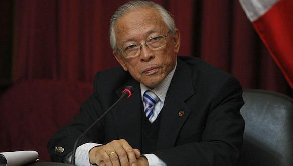 Humberto Lay fue reelegido como presidente de Ética. (USI)