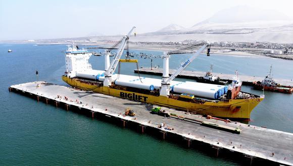 El plan de reanudación de obras fue aprobado por la Autoridad Portuaria Nacional. (Foto: MTC)