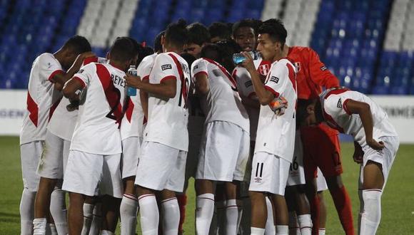 Perú se ubica como escolta de Brasil en la clasificación del Grupo B del certamen de la categoría. (@SeleccionPeru)